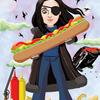 「SARUSARU漫画展2」より - クリスチーナ・リンドバーグ