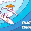 楽しめサーフィン。ゴーゴー!