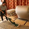 布団のお掃除をします クリーンライブ湘南の説明