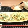 3分クッキング 【にらと鶏ささ身のかき揚げ】レシピ