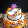 HALLOWEENなお誕生日ケーキ。