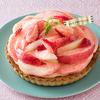 白桃と苺のカスタードタルトがおいしかった【FLO】とはケーキ・スイーツの専門店。オンラインショップもやってます