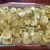 【自給自足】【レシピ】食品乾燥機・フードドライヤーを使ったズッキーニ・キュウリチップス作り