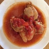 圧力鍋で鶏もも肉のトマト煮込み|糖質制限レシピ