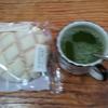 抹茶とメロンパン