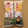 山芳の生産者限定ポテトチップス うすしお味を食べる