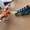 プチブロックの恐竜②