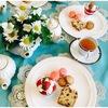 4月のお茶のテーブル