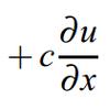 移流方程式(Advection Equation)