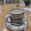 ハートピア京都にある「ふれあいサロンぴあ」にてカフェオーレで休憩っ!