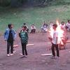 5年生:林間学習2日目⑫ キャンプファイヤー ゲームとまたまたダンス