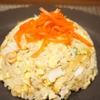 ほっけの開きの食べ方アレンジほっけチャーハンがなかなかうまい( *´艸`)