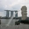 シンガポールのマリーナベイエリア散策。マリーナベイサンズ、マーライオン、ガーデンズ・バイ・ザ・ベイなど。
