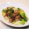 旬の食材、秋の細タケノコ|四方竹とマコモタケ、白菜と豚肉の中華炒め