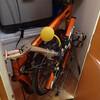 トラキャンへの自転車積載