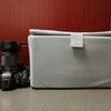 HAKUBAのインナーソフトボックスで普通の鞄がカメラバッグになった!