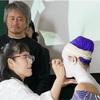 🇨🇳日本舞踊家★飛鳥左近さん、講演始まる・・・国際舞台美術連盟(iSTAN)@中国中央戯劇学院