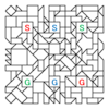 コラボ迷路:問題3-『四角渡り迷路』×『多重迷路』