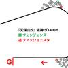 【天保山S・2019年】他の先行馬を封じつつ協調したラップコントロール、ファッショニスタ|逃げ馬レース結果