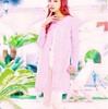 明日花キララ のピンクのカーディガンがカワイイ…