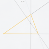 Euclidea 3.2 角と垂心を通る三角形の作図 解説