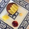 小暑のメニュー レタスのスープ、バナナシフォンケーキ、パイナップルのマフィン、黄粉と胡麻ピーナツバターのグラノーラなど