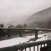 滋賀県 姉川の雪