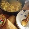 鱈とじゃが芋のサフランスープ〜やっぱり、若いっていいなぁ😊
