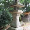 治功神社石灯籠
