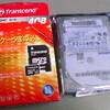 Trancend microSDHC 4GBの速度測定