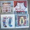 Lucy artのクリスマスカード