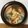 00021『小椅子の聖母』(Madonna della Seggiola) ※模写