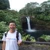 ハワイ島2日目は、レインボーフォールズ!
