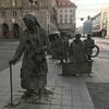 【ポーランド】4日目-1 ヴロツワフ・空港行バス停の確認&旧市街広場の小人たち