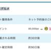 【PONEY】 グルメ予約サイト「EPARKグルメ」で150,000pt!(1,350ANAマイル)