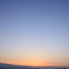 夕暮れ景色~その100『雲一つない空』