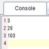 TI-Nspire & Lua / スクリプティングのヒント / クロージャを使う 9 of 9 / 演習 9.3: 多項式を計算する