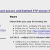CentOSとvsftpdでFTPサーバを作る