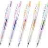 3色のインクが混ざって楽しく書ける『サラサクリップ マーブルカラー』