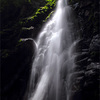 滝の写真 No.8 兵庫県 氷ノ山の不動滝、布滝