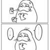 バナー広告「デスゲーム!」「NTRれ!」「おねショタ!」「BL!!」「僧侶と交わる色欲の夜に…!!!」