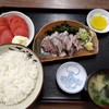 西川口の「あおき食堂」でいわし刺身定食を食べました★