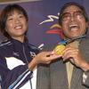 高橋尚子さん涙「輝いていて」小出氏から伝えられた