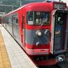 上田電鉄の城下駅に期間限定で留置されている5200系を観に行く