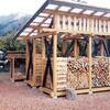 薪小屋の補強・強風対策