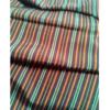 着物生地(329)縞織り出し手織り真綿紬