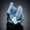 Chrysocolla Stalactites with Drusy Quartz