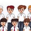私立鳴海学院の生徒たち(その1)
