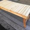 庭キャンプ用ローテーブルをDIY 其の四 表面処理