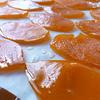 たんかんの果皮のグラッセ(ピール)作り